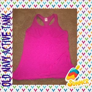 💜2 for $10💜 Pink work out tank top
